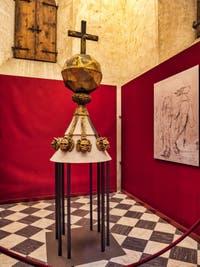 Polyèdre de Michel-Ange, Sacrestia Nuova, la chapelle Médicis à Florence en Italie