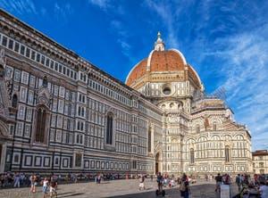 La Cathédrale Santa Maria del Fiore ou Duomo à Florence en Italie