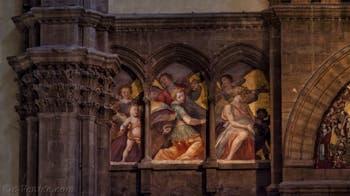 Fresque Anges Musiciens Santi di Tito Cathédrale Santa Maria del Fiore, le Duomo à Florence en Italie