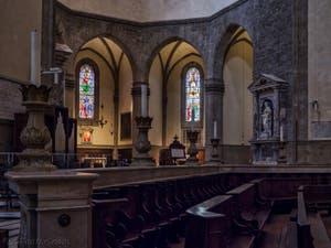 Chœur Cathédrale Santa Maria del Fiore, le Duomo à Florence en Italie