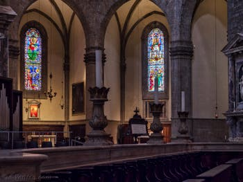 Chœur de la Cathédrale Santa Maria del Fiore, le Duomo à Florence en Italie