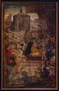 San Bartolomeo en trône de Rossello di Jacopo Franchi Cathédrale Santa Maria del Fiore ou Duomo à Florence en Italie