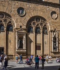 Musée église Orsanmichele à Florence en Italie