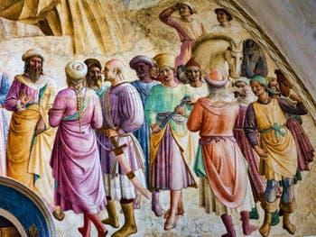 Fra Angelico, Fresques cellule monacale du couvent de San Marco, XVe siècle, à Florence Italie