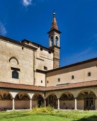 Musee Couvent de San Marco, le cloître Sant Antonin à Florence en Italie