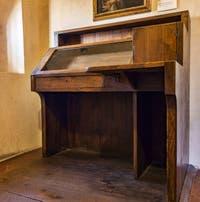 Le Bureau de Jerôme Savonarole au Couvent Musée San Marco à Florence en Italie