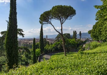 Florence vue depuis San Miniato al Monte.
