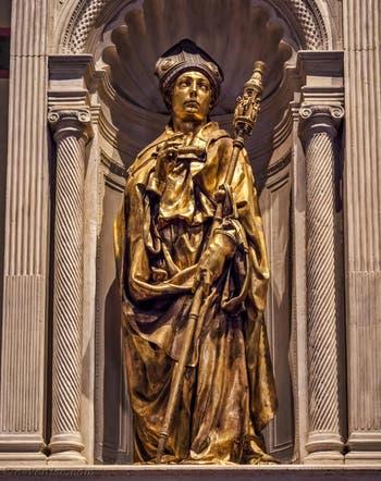 Donatello saint Ludovic de Toulouse Santa Croce à Florence en Italie