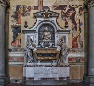 Tombe de Galilée Santa Croce à Florence en Italie