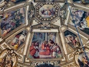 Chapelle Gaddi d'Antonio Dosio (1575-1577) de l'église Santa Maria Novella à Florence en Italie