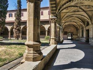 Fresques du Cloître Vert de l'église Santa Maria Novella à Florence en Italie