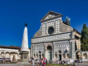 La basilique église Santa Maria Novella à Florence en Italie
