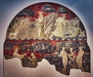 Musée de l'église Santa Maria Novella à Florence en Italie
