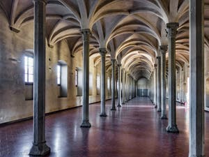 Réfectoire de l'église Santa Maria Novella à Florence en Italie
