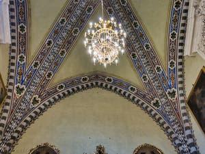 Sacristie de l'église Santa Maria Novella à Florence en Italie