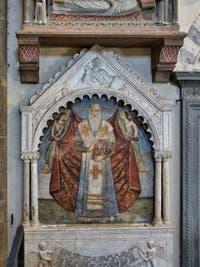 Transept de l'église Santa Maria Novella à Florence en Italie