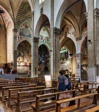 Nef de la basilique Santa Trinita, Neri di Fioravante, 1300-1330 et 1365-1405