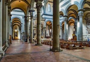 Eglise de Santo Spirito à Florence en Italie