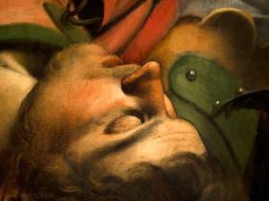 Caravage,La Conversion de saint Paul sur le chemin de Damas, Chapelle Cerasi, église Santa Maria del Popolo à Rome en Italie
