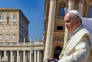 Audience Papale Pape François Place  Saint-Pierre du Vatican à Rome