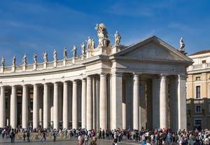 La place Saint-Pierre de Rome