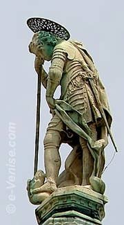 Ange Basilique Saint-Marc venise