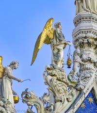 Ange de la Basilique Saint-Marc à Venise, par Nicolo Lamberti au XVe siècle