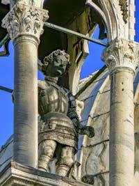 Statue de Pietro Lamberti du XVe siècle, basilique Saint-Marc de Venise