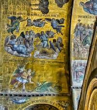 Mosaïques de l'abside de la basilique Saint-Marc de Venise du XIIIe siècle