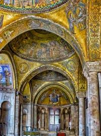 Les mosaïques du XIIIe siècle de l'Atrium de la Basilique Saint-Marc à Venise