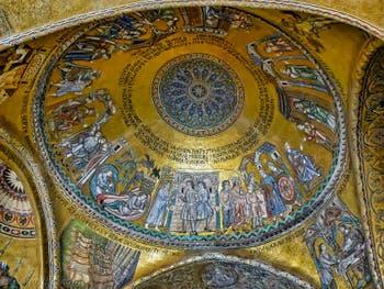 Mosaïque de la coupole de Joseph, 1260-1270, Basilique Saint-Marc de Venise