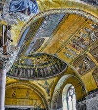 Mosaïques de l'Atrium du XIIIe siècle de la Basilique Saint-Marc à Venise