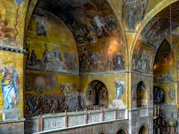 Les mosaïques de l'Abside de la Basilique Saint-Marc à Venise