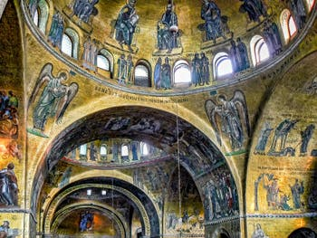 Mosaïques de l'abside de la Basilique Saint-Marc à Venise