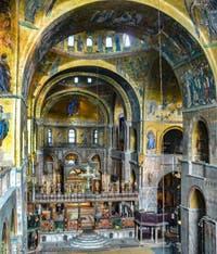 La nef de la Basilique Saint-Marc à Venise