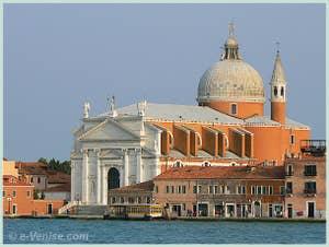 L'église du Redentore sur l'île de la Giudecca à Venise