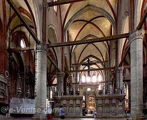 Église des Frari à Venise