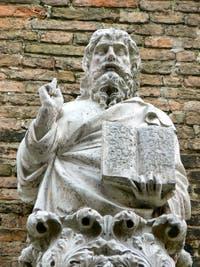 Portail gothique de Bartolomeo Bon de l'église Santo Stefano à Venise