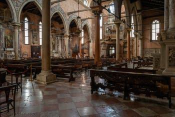 L'église de Santo Stefano dans le Sestier de Saint-Marc à Venise.