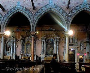église Santo Stefano à Venise