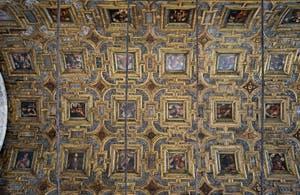 Plafond à caissons de l'église Santa Maria dei Miracoli, Sainte Marie des Miracles à Venise