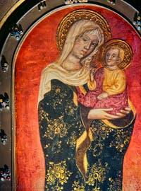 Icône miraculeuse de la Vierge Marie de l'église Santa Maria dei Miracoli à Venise