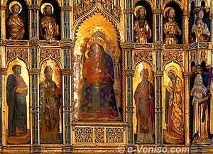 Chapelle d'Or - Le Polyptique de La Vierge