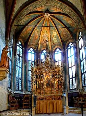 La chapelle d'Or de San Zaccaria à Venise