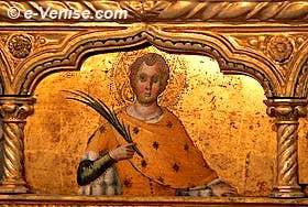 San Zaccaria - Vivarini, Polyptique de La Vierge