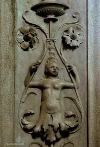 Néréide de l'église Santa Maria dei Miracoli à Venise