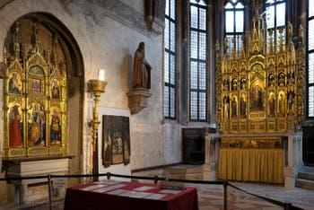 Chapelle d'Or San Tarasio de l'église San Zaccaria à Venise