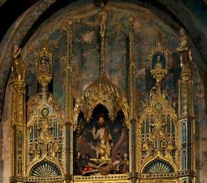 Polyptyque du Corps du Christ, Del Corpo del Cristo, Chapelle d'Or San Tarasio de l'église San Zaccaria à Venise