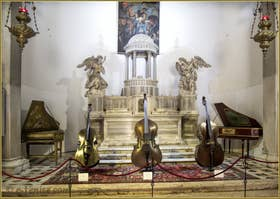 Exposition d'instruments de musique anciens Antonio Vivaldi et son Temps à Venise