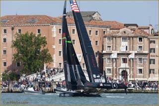 Coupe de l'America - America's Cup à Venise - Photos Gilles Martin-Raget